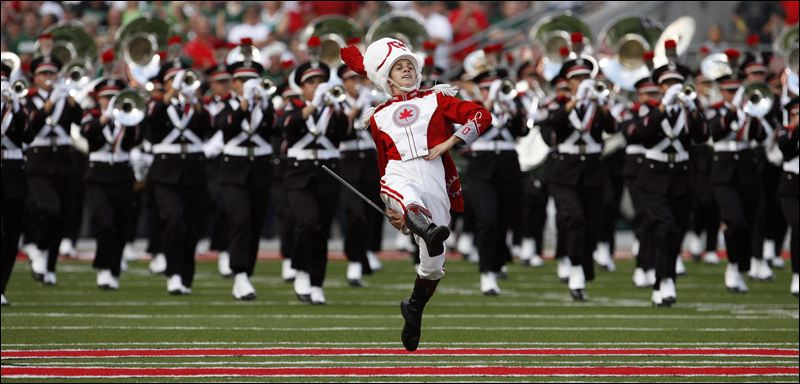 No marching band, no stripes